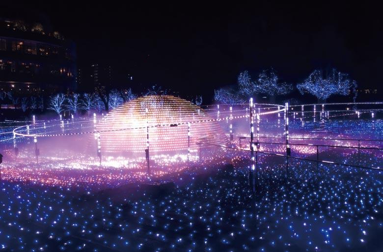東京聖誕燈飾TOKYO MIDTOWN