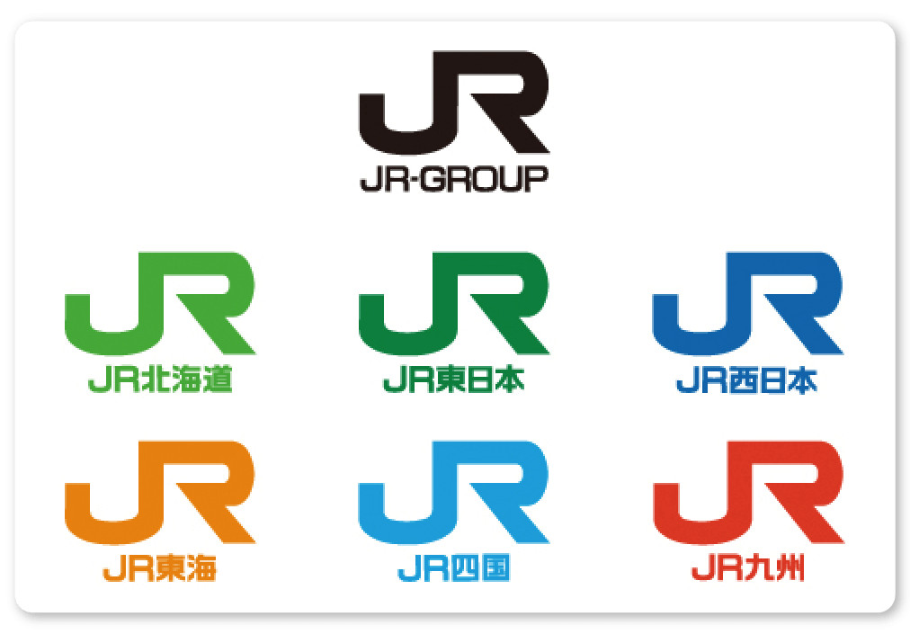 日本JR集團商標