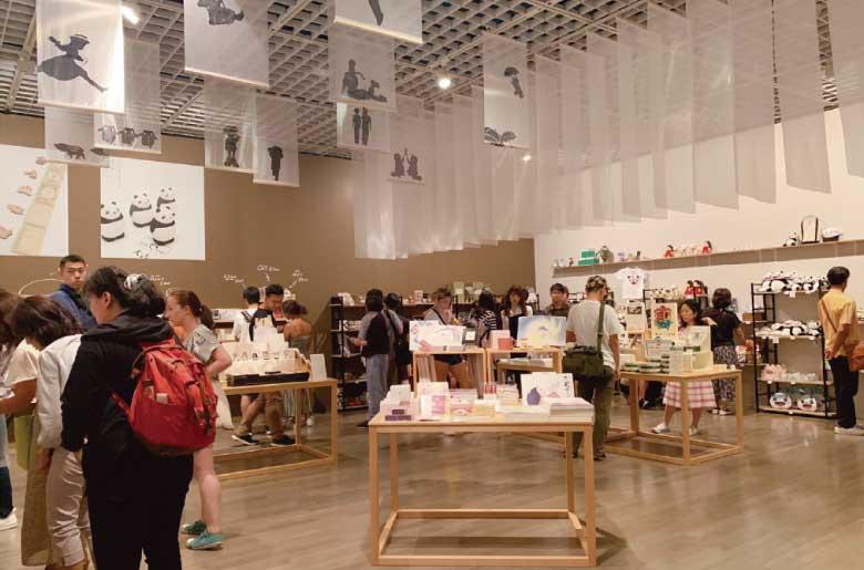 高畑勳展紀念品商店