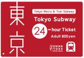「Tokyo Subway Ticket」1日券