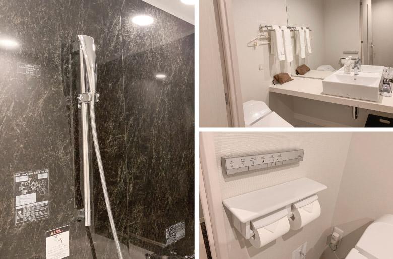 大和ROYNET飯店浴室