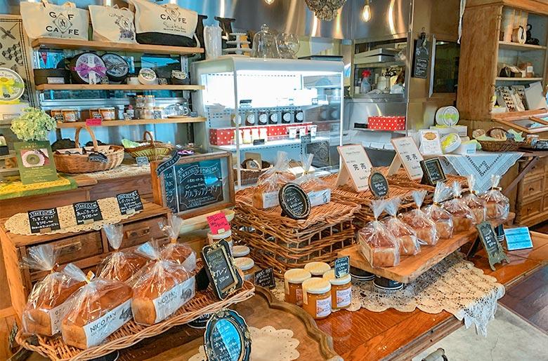東京咖啡店「GLUTEN FREE CAFE Tama Kuchen」店內擺設