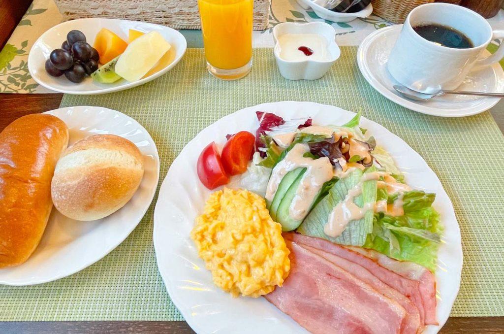 Azami Lodge早餐